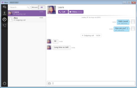 Viber 7 8 Windows for PC Latest Android Version Free