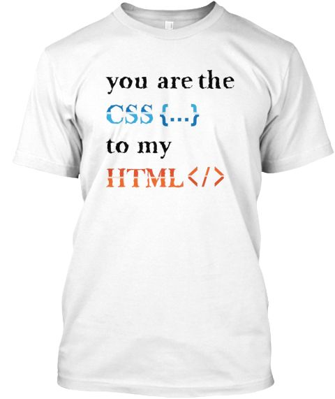 007f1c8a CSS And HTML Programmer Tshirt For Men | Programmer Mugs | Anti ...