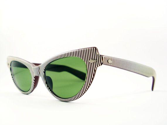 Vintage Cat Eye Eyeglasses Sunglasses by VintageEyeglassesCat, $100.00