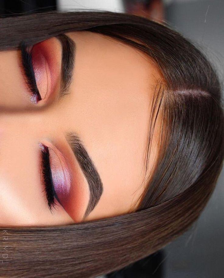Fantástico   Fotos  maquillaje de ojos graduacion  Sugerencias,inspo de maquillaje en tonos c…
