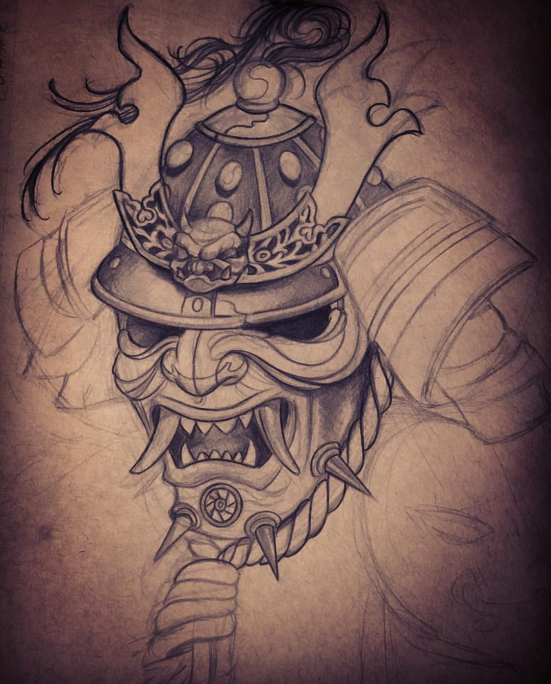 Sketch For A Japanese Sleeve: TATU BABY TATTOOS!