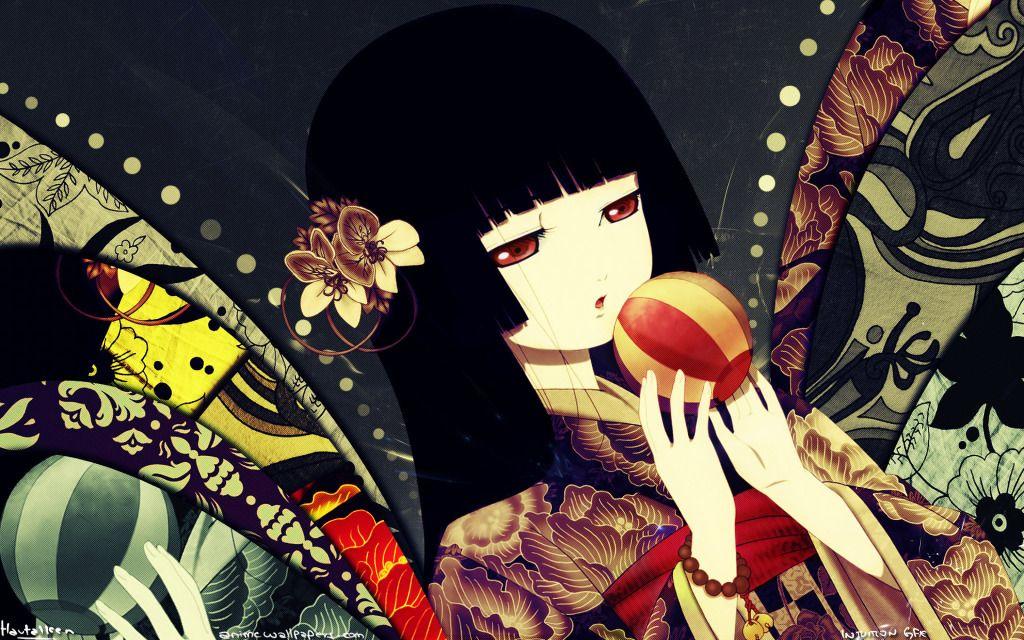 Jigoku Shoujo Hd Wallpapers Jigoku Shoujo Pinterest Shoujo