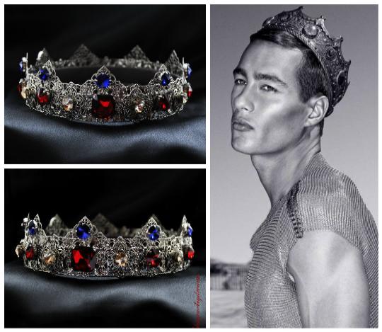 LEONCIO - Silver Dolce Male Crown