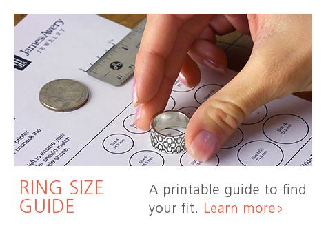Ring Size Guide A Printable Guide To Find Your Fit James Avery