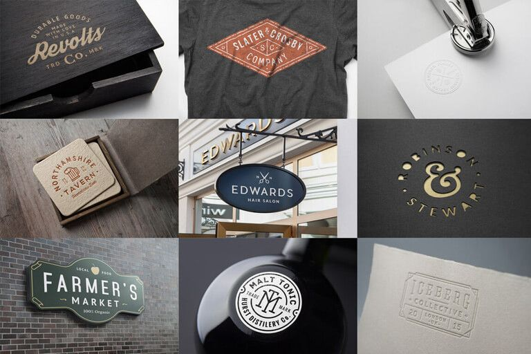 100+ logo psd & vector mockup templates | design shack | free psd, Powerpoint templates