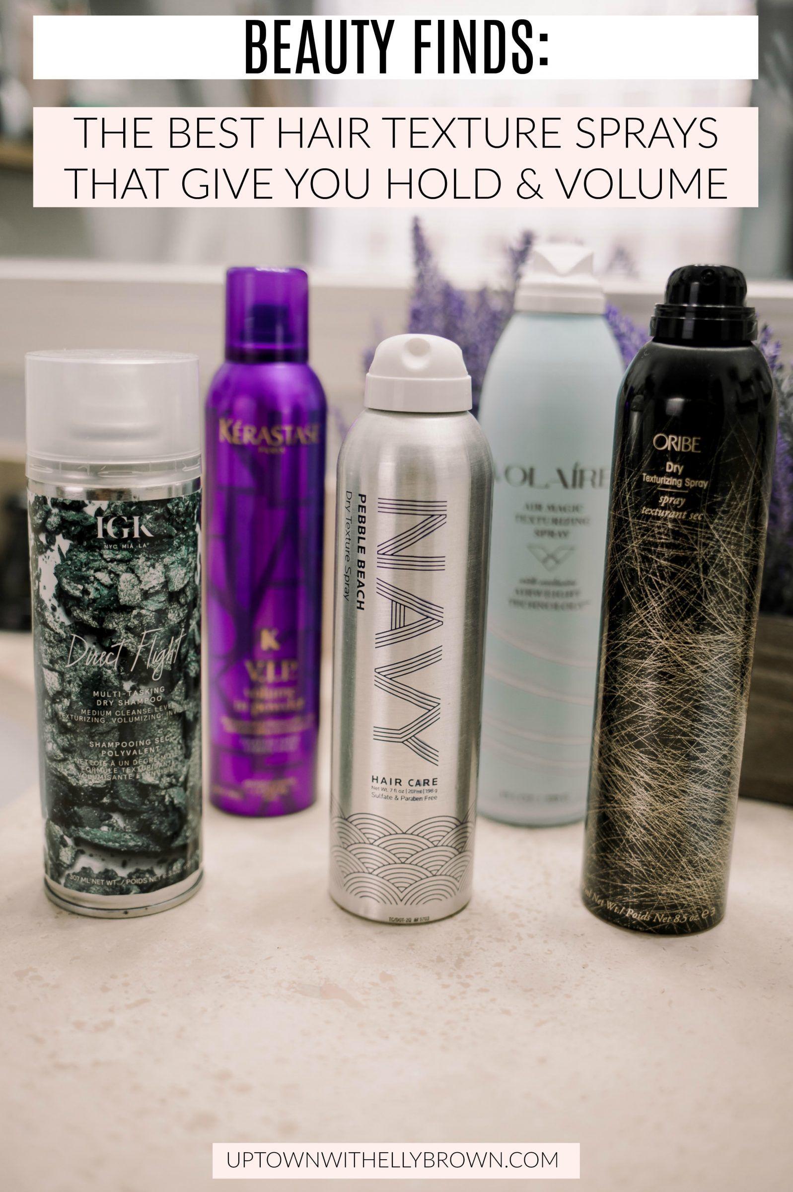 5 of My Favorite Hair Texture Sprays Textured hair
