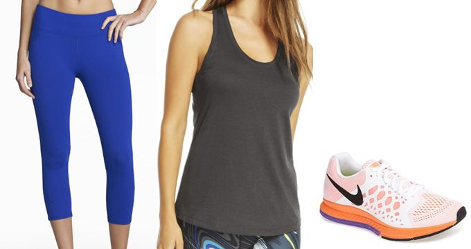 packing for a healthy vacation {active wear}