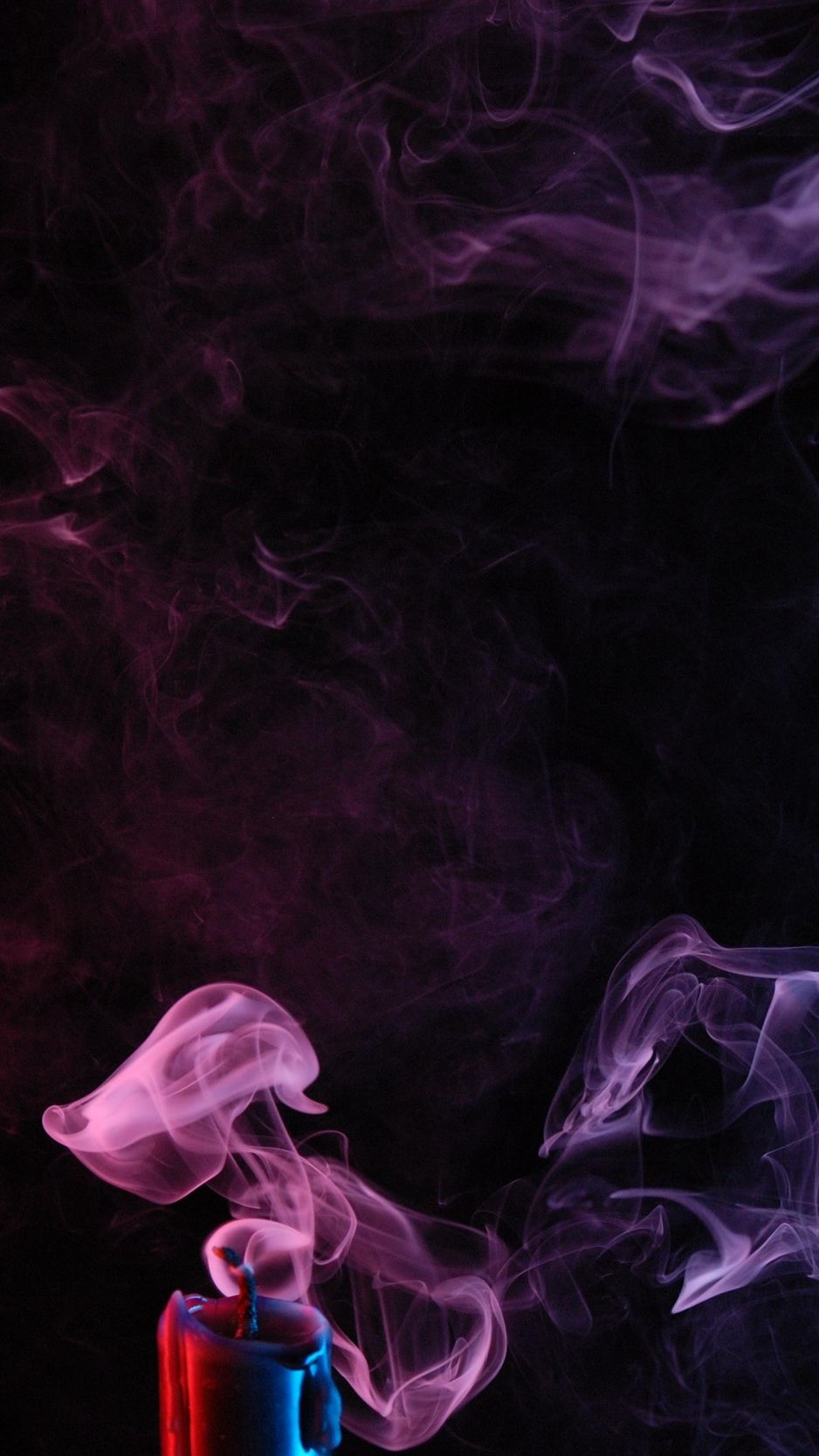 Candle Smoke Colored Smoke Wallpaper Smoke Wallpaper