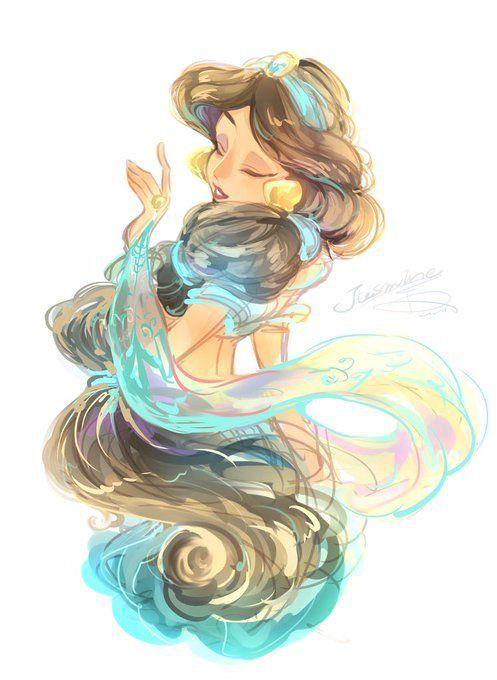 Princess Jasmine Disney Fanart おもしろ画像 ディズニー