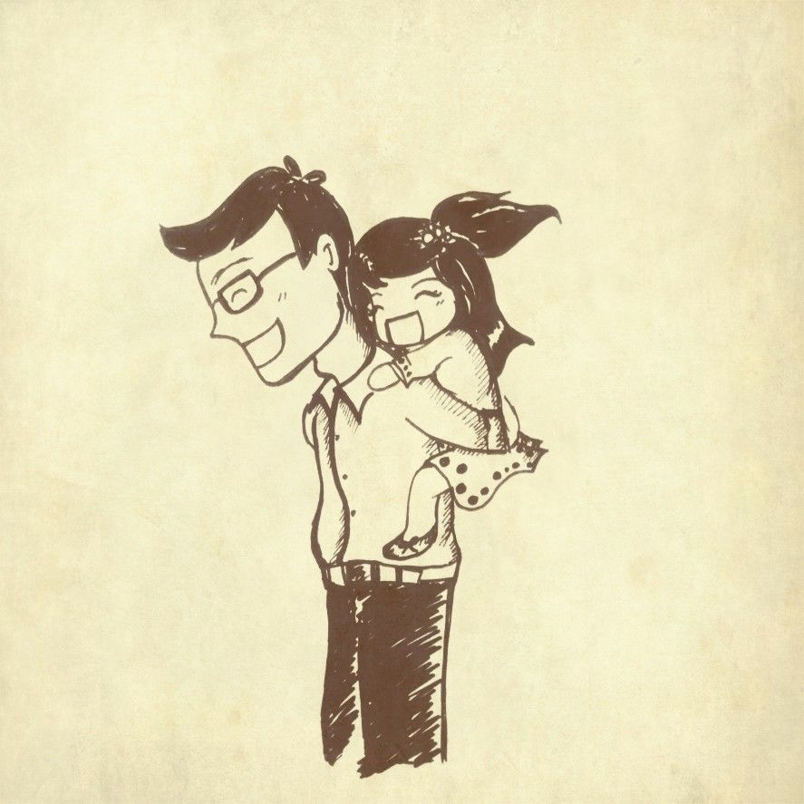 There are no perfect fathers but a father will always love perfectly