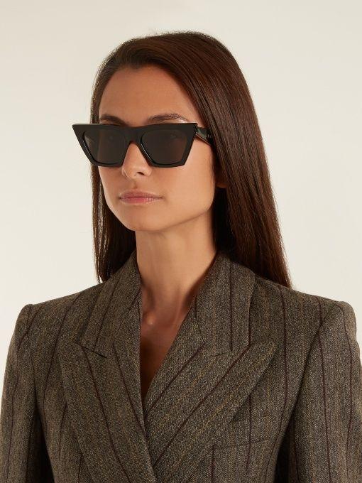 9969808e803 Celine Cat Eye Sunglasses Blue