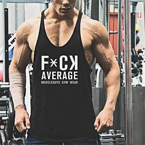 1c340cc3 Muscle guys animal print Cotton tank tops bodybuilding fitness men Golds  gyms work out vest men fitnes shirt men tops