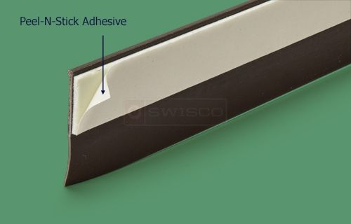 Peel N Stick Door Sweep Weatherseal Easy To Apply Weatherstrip