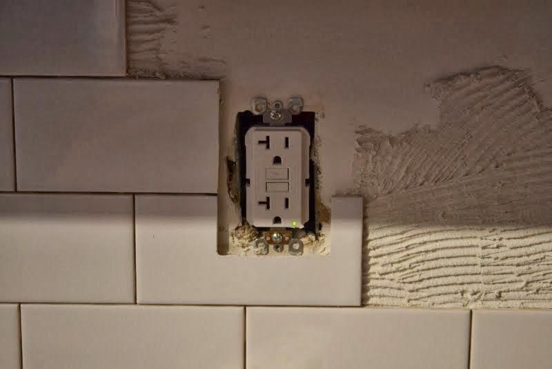 How To Tile A Kitchen Backsplash With Subway Tile Over Drywall