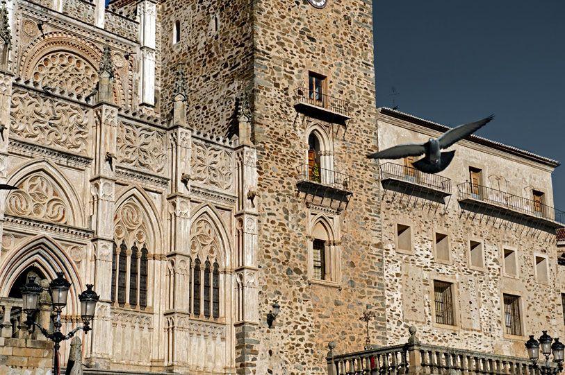 Monasterio de Nuestra Señora de Guadalupe Las Villuercas, Cáceres - Spain