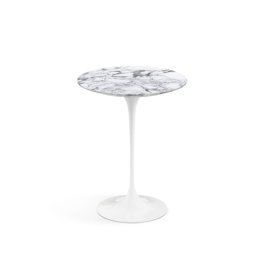 851 x2 saarinen side table 16 round knoll