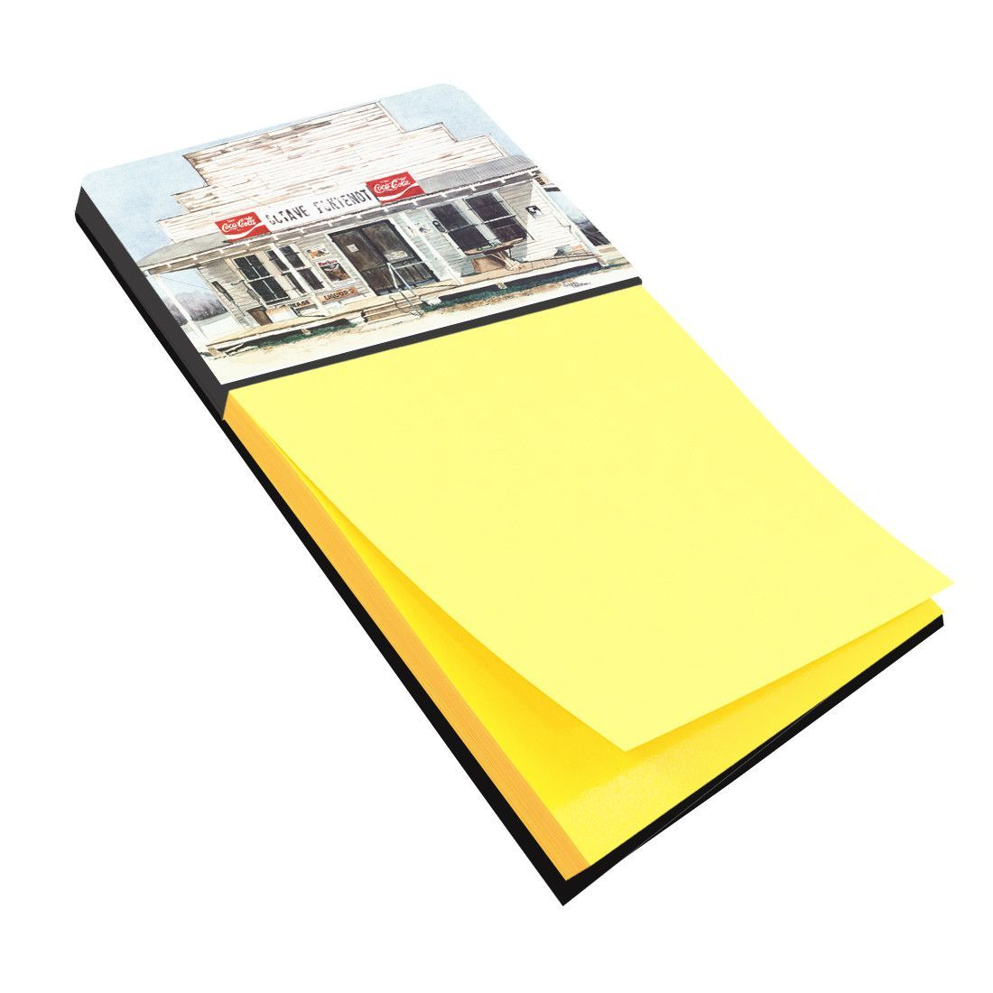 Octave Fontenot Refiillable Sticky Note Holder or Postit Note Dispenser 8111SN