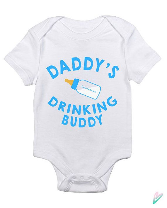 I drink until I pass out Funny Baby Vest gift joke cute grow bodysuit boy girl