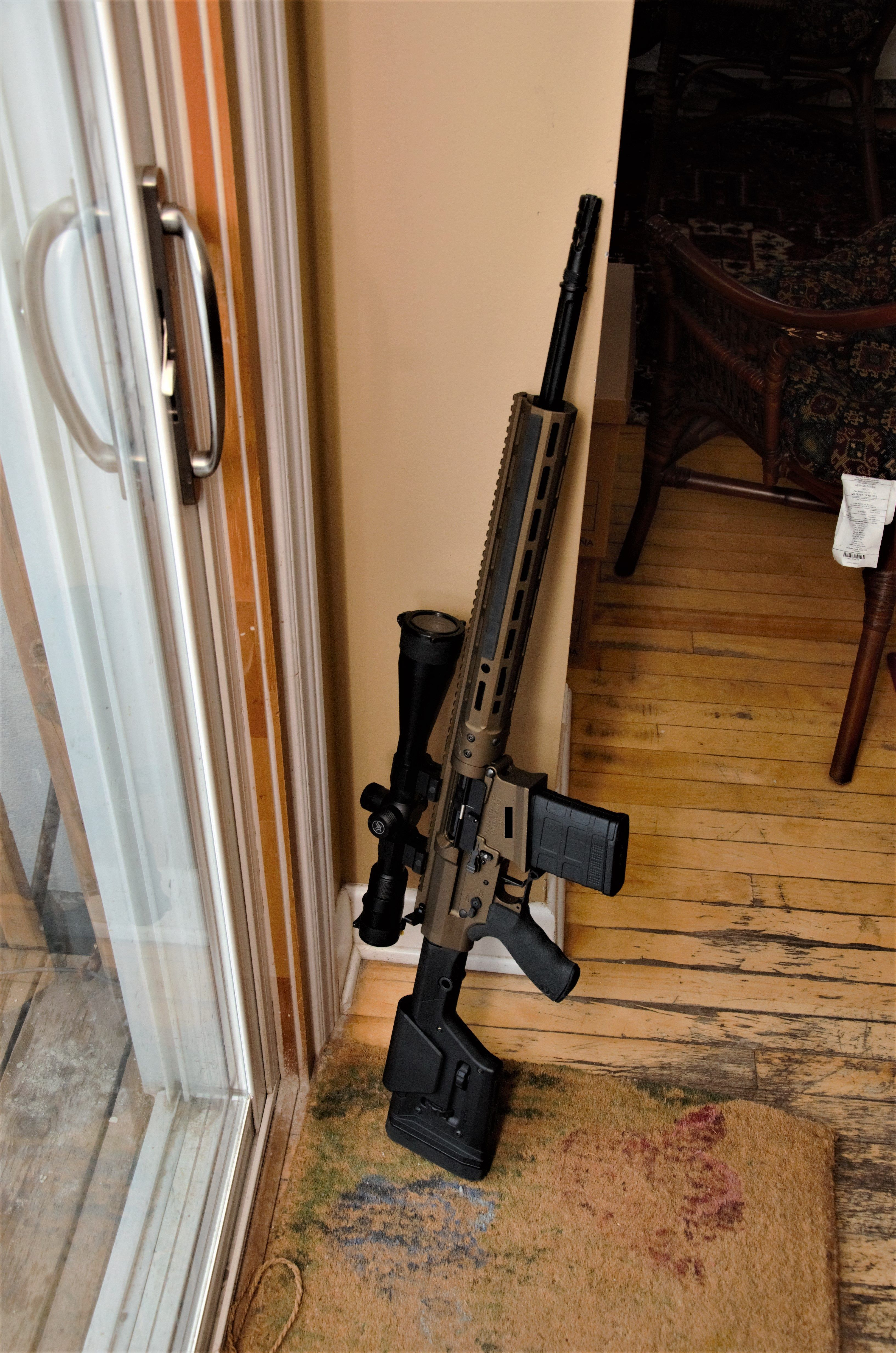 Something A Little Different Ar 15s Are Restricted In Canada So We Started Making Modernized Ar 102s Ar 10 Here Is Military Guns Badass Guns Guns And Ammo