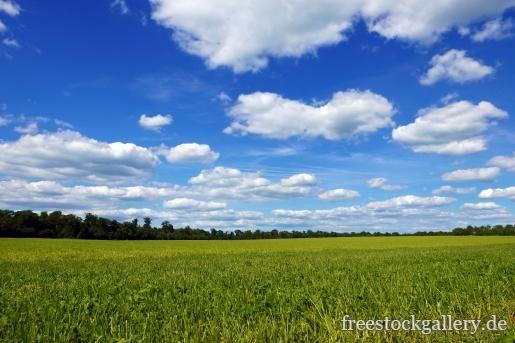 Felder Blauer Himmel Und Wolken Landschaft Landschaft Bilder Landschaftsbau