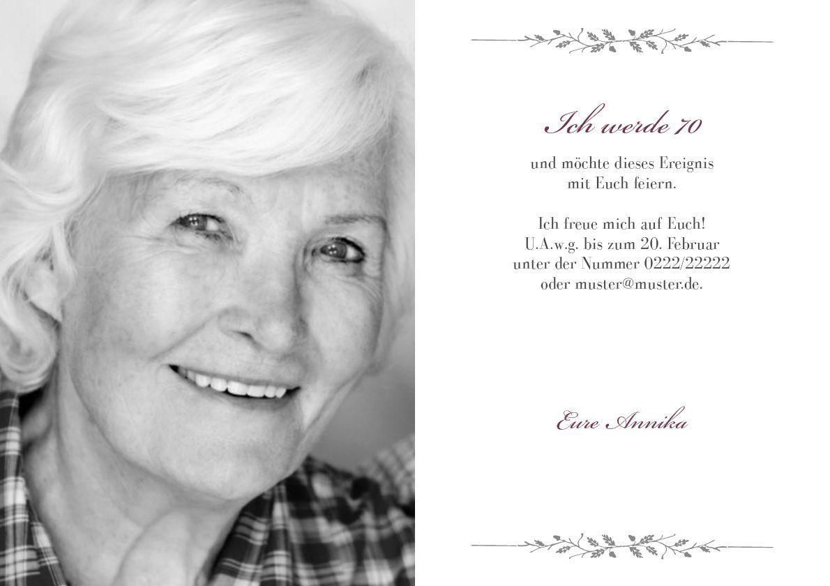 Einladungskarten Geburtstag : Einladungskarte 70 Geburtstag   Einladung Zum  Geburtstag   Einladung Zum Geburtstag