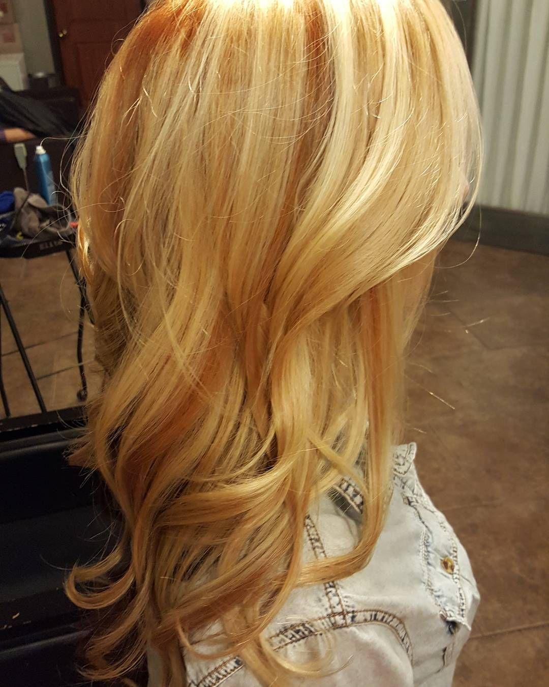 Bold Blonde Accent  Hair  Pinterest  Strawberry blonde hair Hair