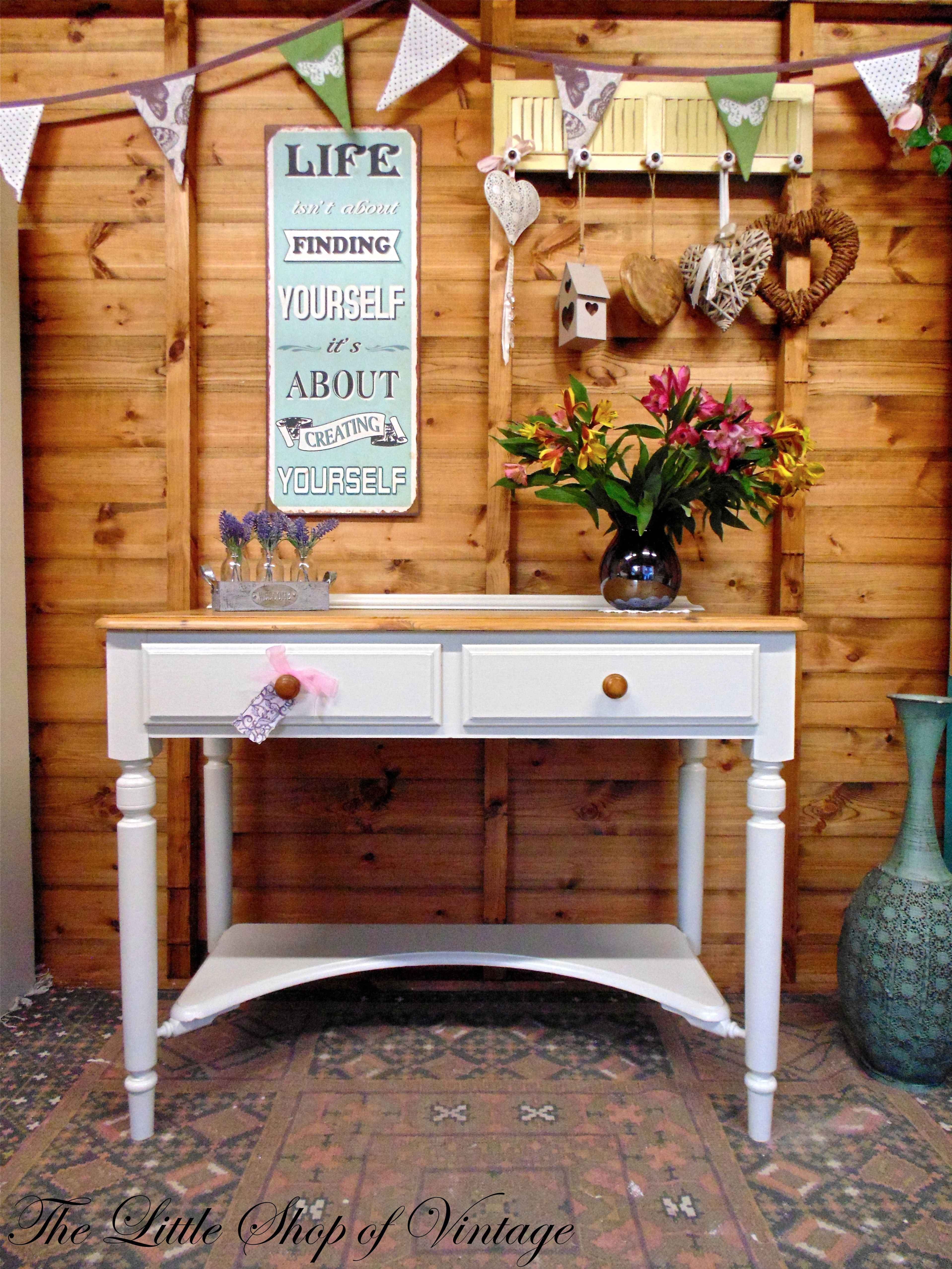 Beautiful Dressing Table from Ducal. Solid Pine & Painted in Farrow ...