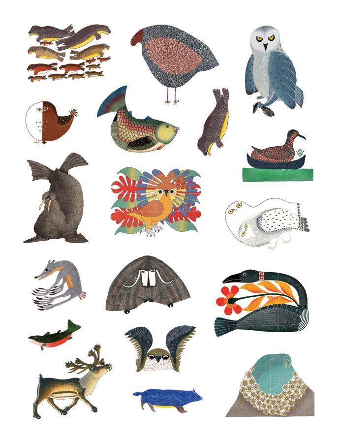 Inuit Animal Art Google Search Nordic