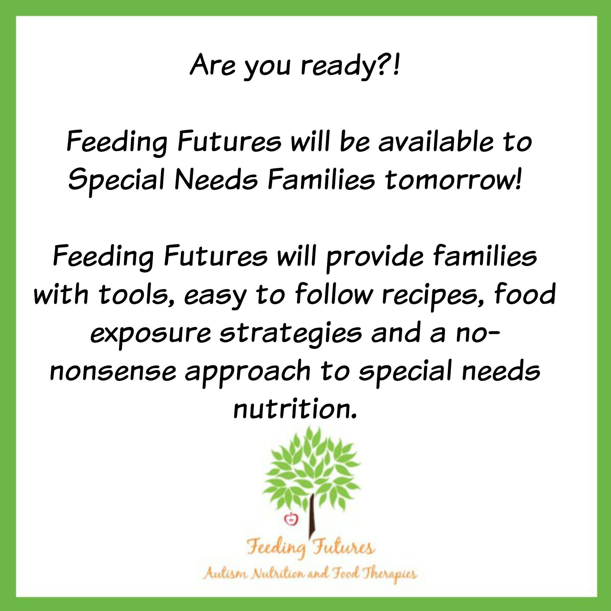 Feeding Futures Autism Nutrition Pinterest