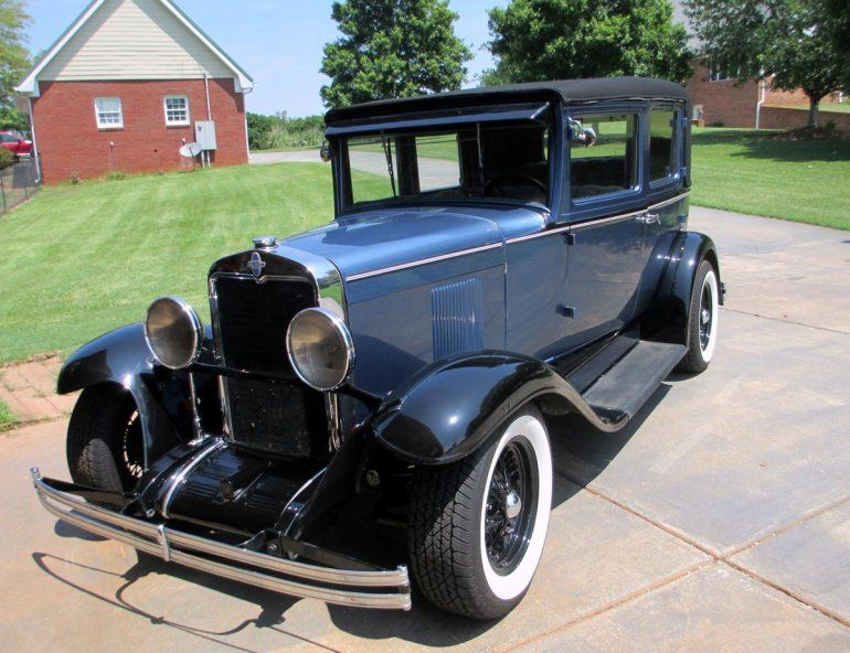 1930 Chevrolet 4 Door Sedan Offered For Auction 1780498 Chevrolet Classic Cars Cars For Sale