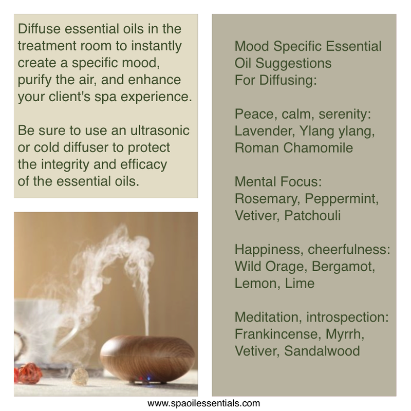 Diffusing Essential Oils in the Treatment Room
