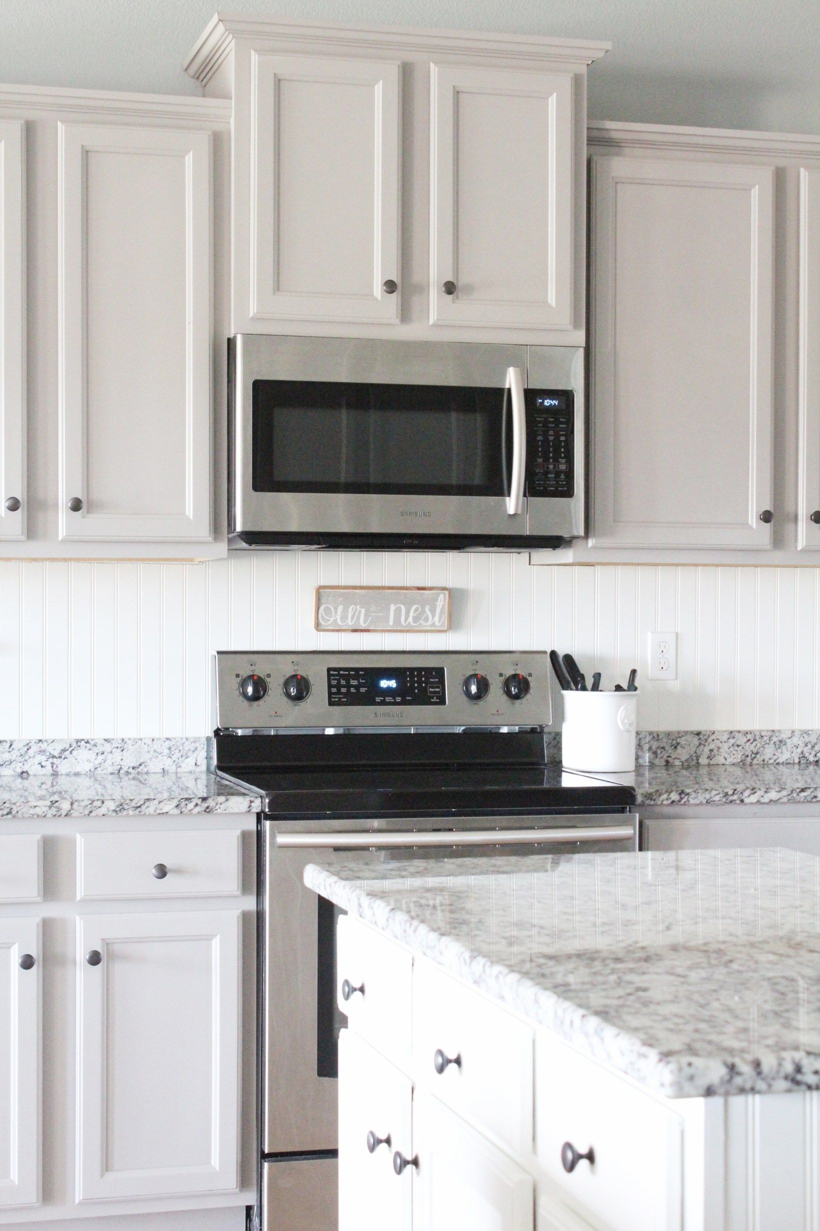 Painting Laminate Cabinets With No Prep Work Part 2 In 2020 Laminate Cabinets Laminate Kitchen Cabinets Cheap Kitchen Cabinets