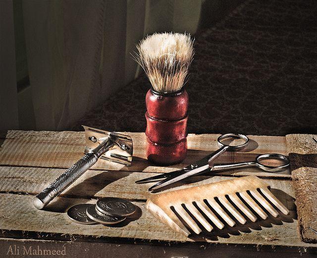 Still Life, The Barber . by Ali Mahmeed., via Flickr