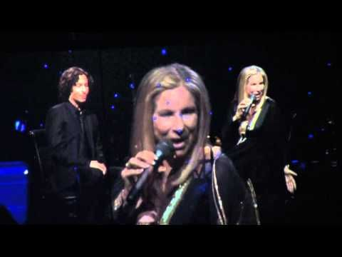 Barbra Streisand & Jason Gould - How Deep Is The Ocean - Philadelphia 10/8/12