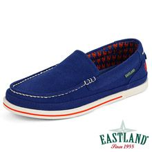 New York Mets MLB Sheffield Canvas Slip On Loafer by Eastland