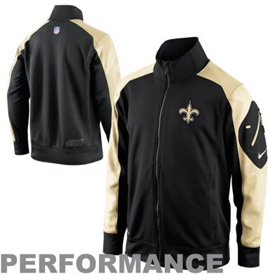 best service 0c52b 73c2e Nike New Orleans Saints Fly Speed Full Zip Performance ...