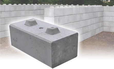 Precast Concrete Lego Blocks to make retaining walls, bunkers, bay walls etc