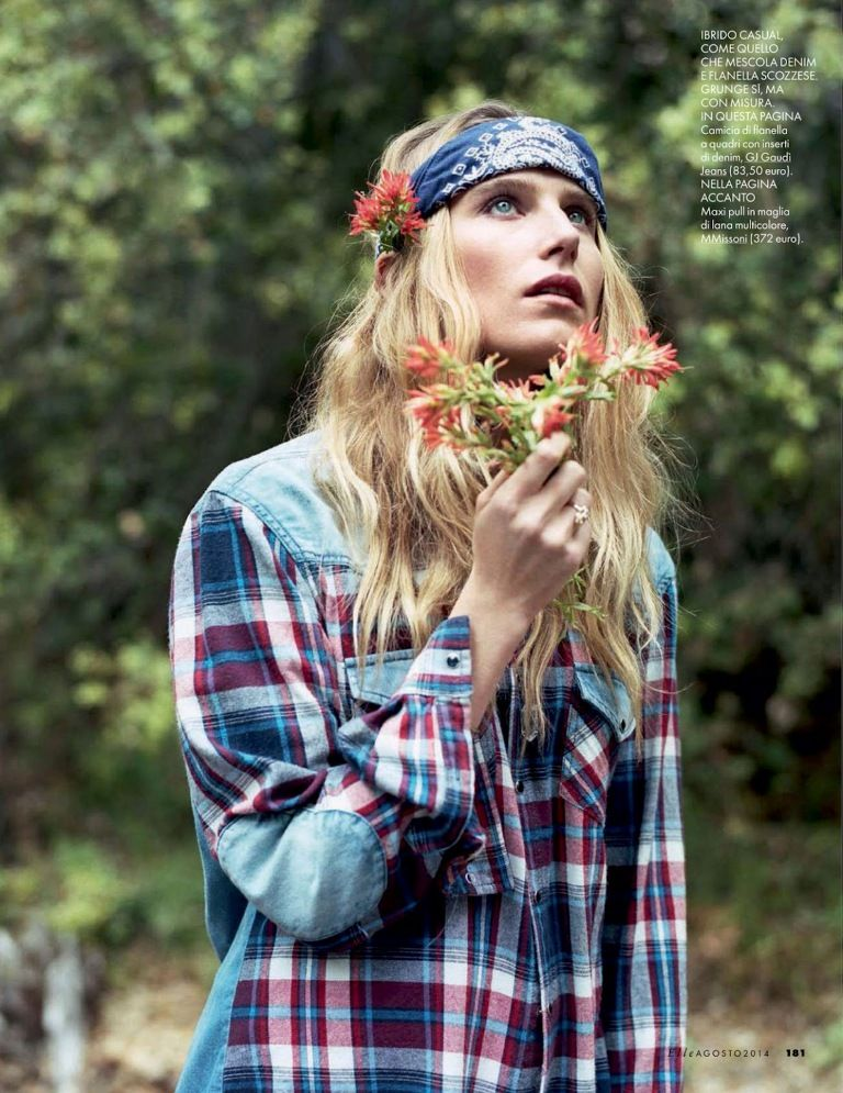 Fashion Editorial Inspiration Elle Italia August 2014 Dree - k che wei matt