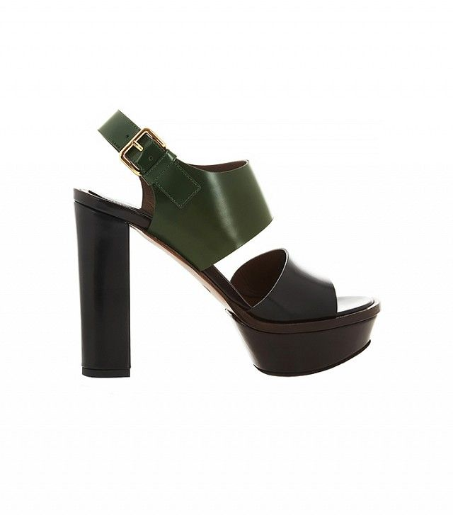 94c50121febe Marni Platform Sandals  3 25 Heels That Are Way More Comfortable Than Flats  via  WhoWhatWear