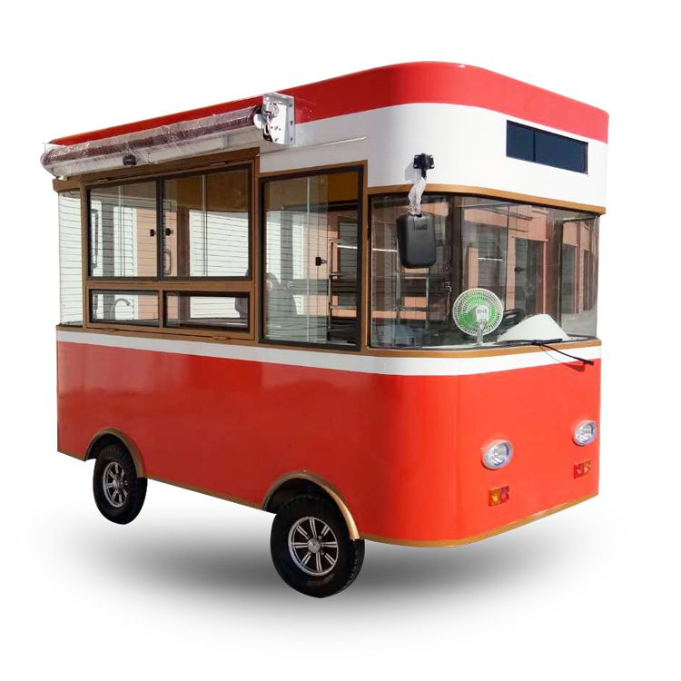 Chinese Customized Thailand Mini Mobile Crepe Fast Food