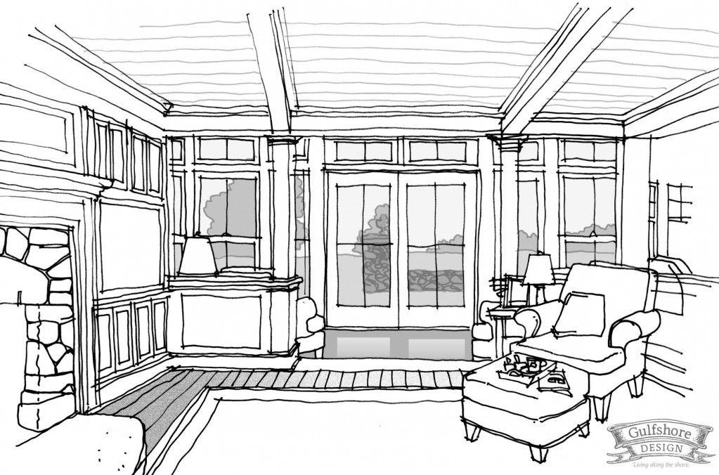 interior sketch - Поиск в google | arch sketch | pinterest