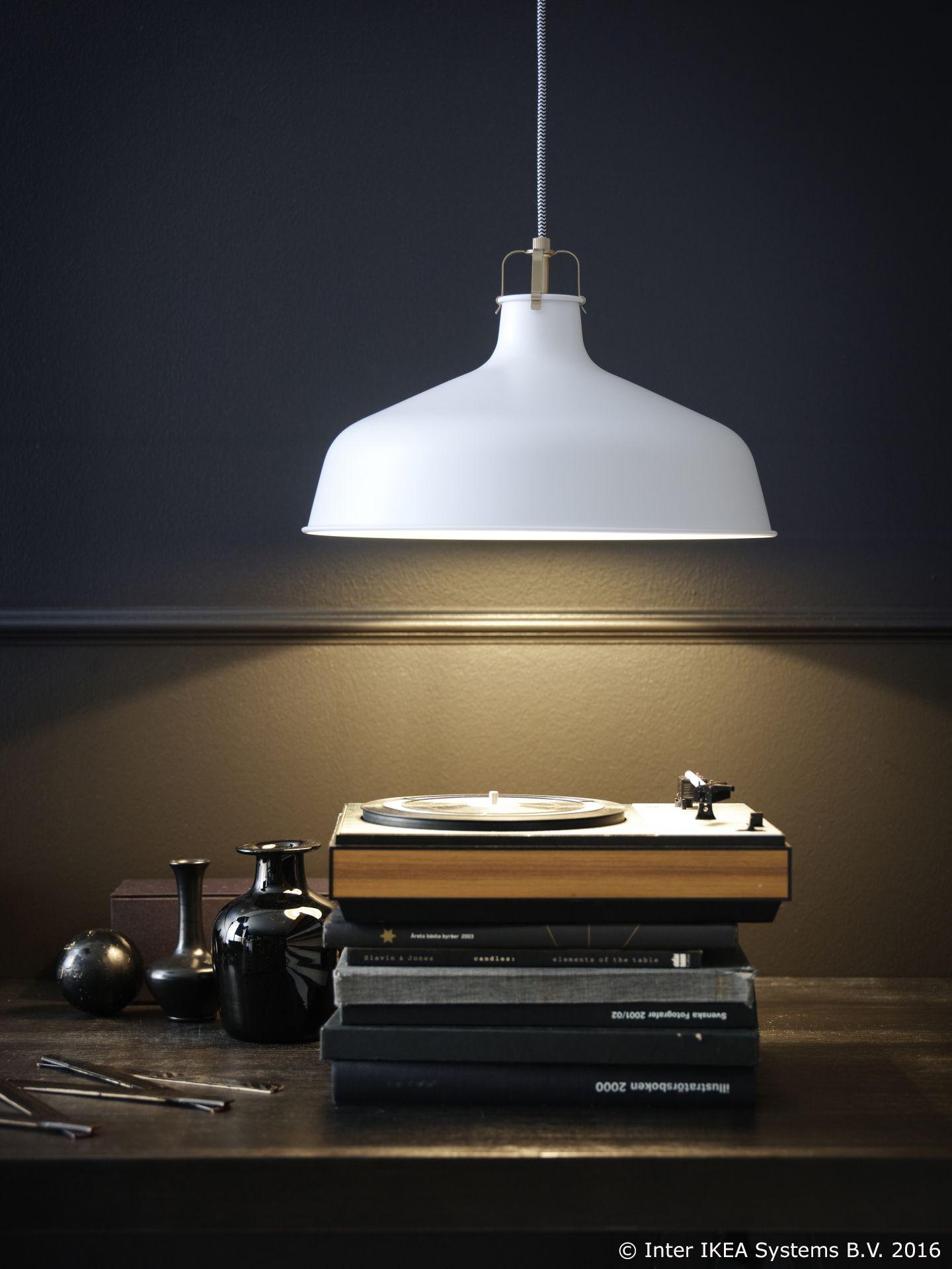 IKEA RANARP Pendant l& Off-white 38 cm Gives a directed light; good for lighting up for ex&le dining tables or bar tops. & RANARP visilica usmjerit ?e svoje svjetlo na tvoj omiljeni kutak ... azcodes.com