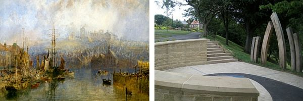 Pannett art gallery and park