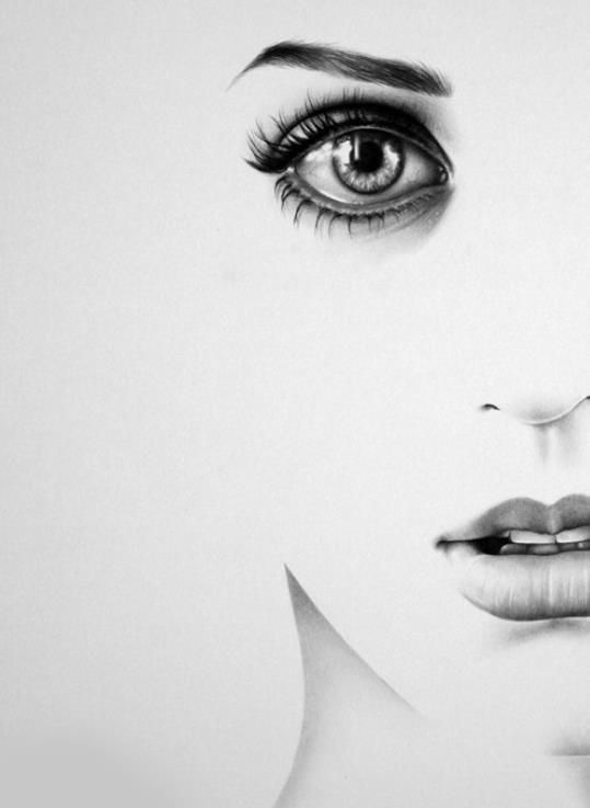 Amazing-beautiful-black-and-white-draw-Favim.com-604470.jpg (539u00d7737) | Strong Soft Firm And ...