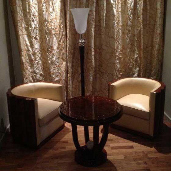 Modele Jazz Fauteuil Art Deco Boiseries Galbees Loupe D Orme Fauteuil Art Deco Meubles Art Deco Mobilier De Salon