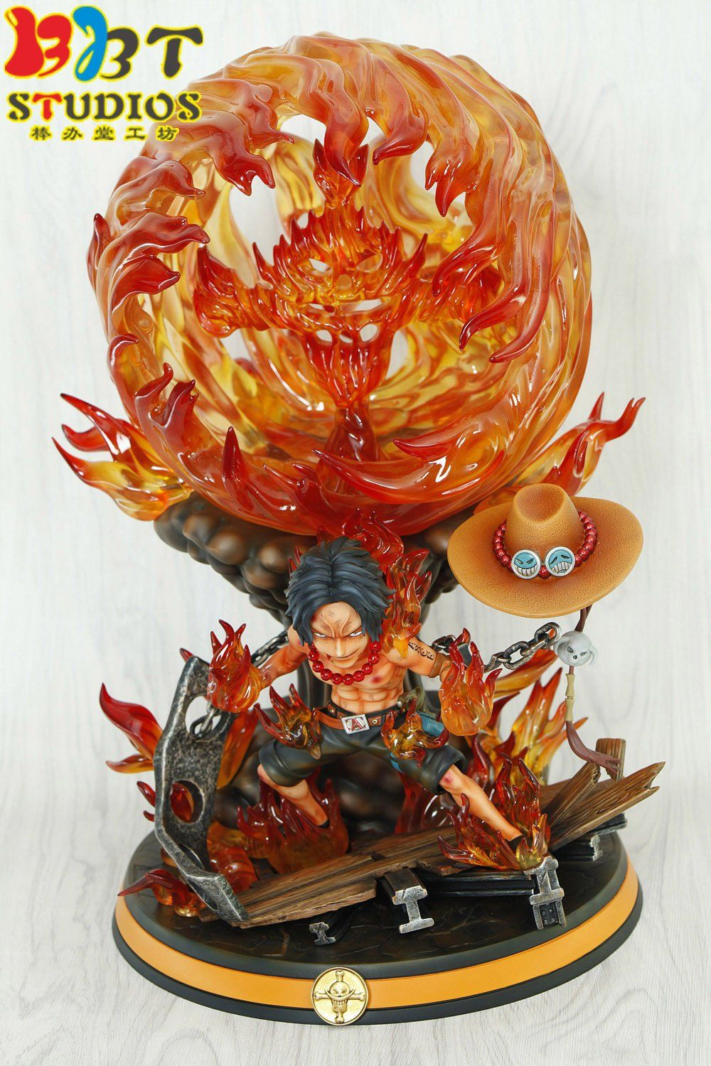 Pin di ONE PIECE FIGURE BBT STUDIOS