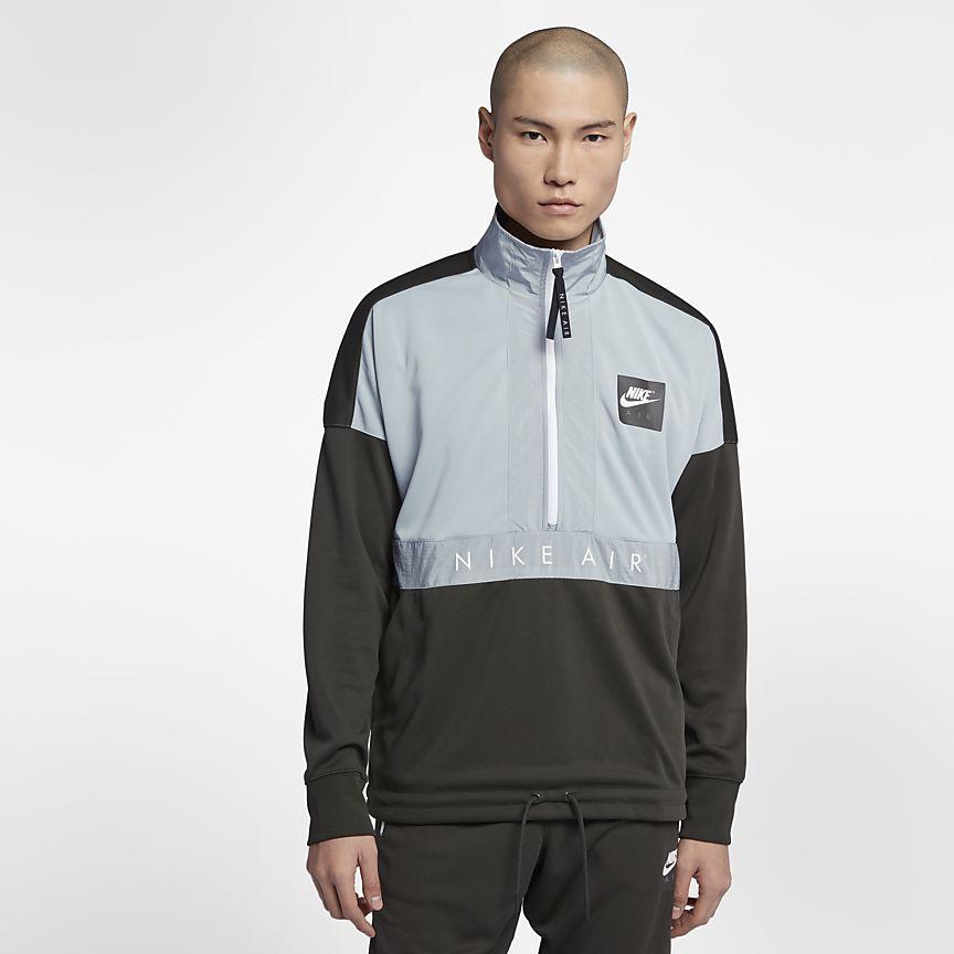 Haut demi zippé Nike Air pour Homme | Nike air, Veste adidas