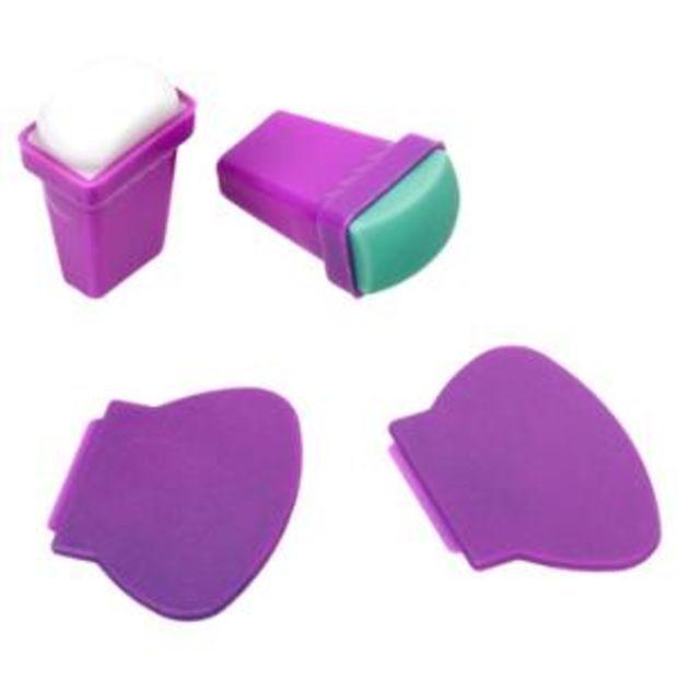 Walmart: BMC 4pc Silicone and Rubber Stamper Plastic Scraper Nail ...