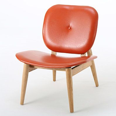 Best Betop Burnt Orange Leather Accent Chair Leather Accent 640 x 480
