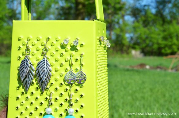 From cheese grater to jewelry holder; D.I.Y. Trash to Treasure